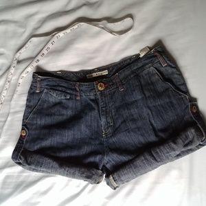 Tommy hilfiger jean shorts adjustable length